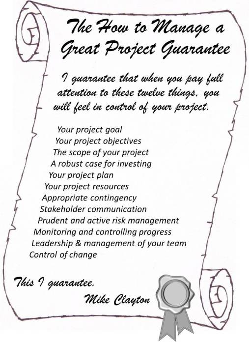 how-to-manage-a-great-project-mikes-project-management-guarantee