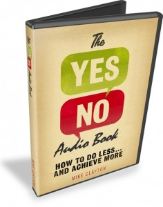 The YES-NO Audiobook Open DVD Case